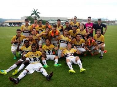 Sub 15 do Criciúma está na final do Catarinense