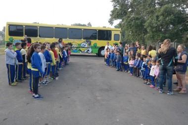 Viagens iniciaram nesta semana na escola municipal Jairo Tomazi