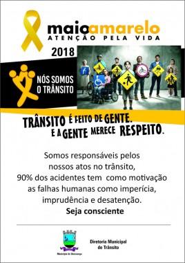 Urussanga realiza ações no Maio Amarelo