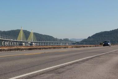 Trechos antigos da BR-101 Sul tornam-se pista para tráfego local