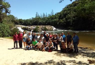 Comitiva de Içara conhece belezas de São Martinho