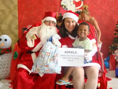 Adote um Sorriso: Campanha da Unesc leva presentes para 78 crianças