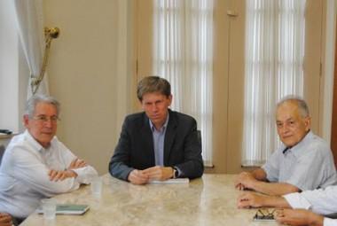 Presidente da FIESC visita Unisul e reforça parceria