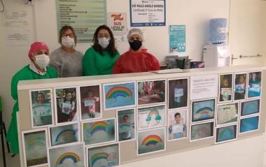 Projeto arco-íris a ação que aproxima mesmo de longe os alunos e professores