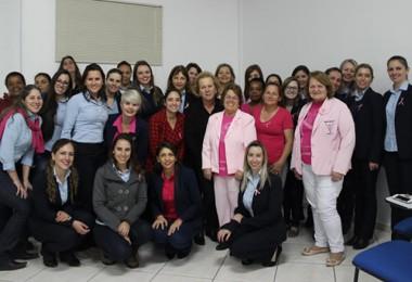 Outubro Rosa é tema de palestra na Ferrovia Tereza Cristina