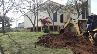 Obra de revitalização na Praça São Miguel é iniciada