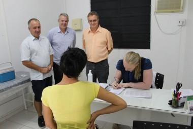 Urussanga inicia a campanha de vacinação contra a gripe