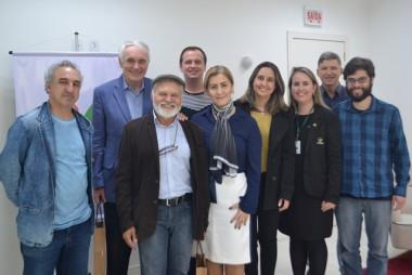 Unesc recebeu na última semana representantes da Capes