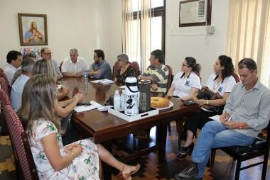 Urussanga recebe visita do reitor da Udesc