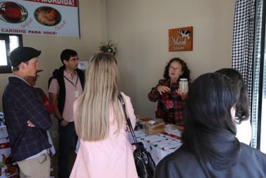 Visitantes de São Bento do Sul conhecem agricultura de Içara