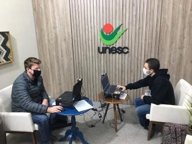 Curso de Biomedicina da Unesc promove palestras e troca de conhecimentos