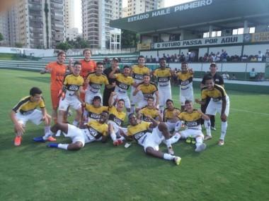 Tigre empata em GO e avança na Copa do Brasil Sub-20