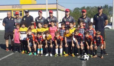 Escolinha de Futebol Tigre realiza jogo em Siderópolis