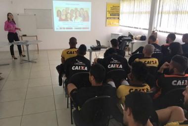 Tigre tem palestra de educação financeira com a Caixa