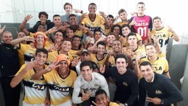 Tigre é finalista no Catarinense de Sub-17