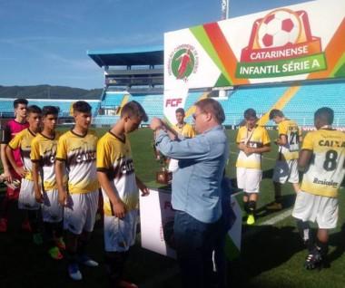 Criciúma é o vice no Catarinense Sub-15