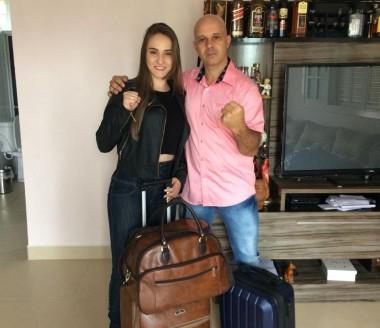 Sabrina Pereira luta por vaga em mundial de karatê