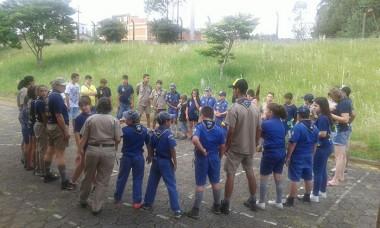 Primeira reunião do ano reservou integração aos escoteiros