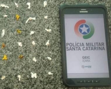 Adolescente é detido por tráfico de drogas em Balneário Rincão