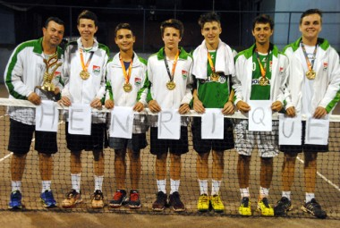 Tênis de campo é campeão dos Joguinhos Abertos de SC