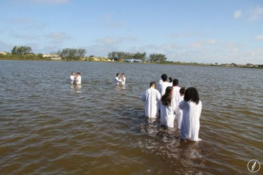 Assembleia de Deus de Içara promoveu primeiro batismo de 2018