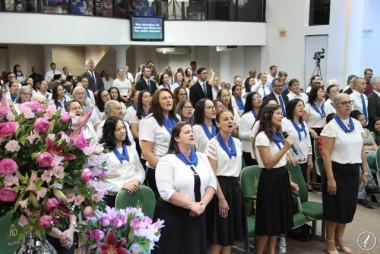 O 37º aniversário do Círculo de Oração AD Içara foi celebrado