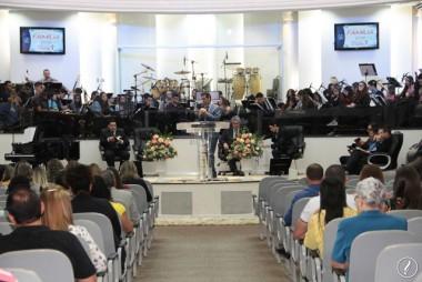 Culto da Família abençoado no Templo Sede AD Içara