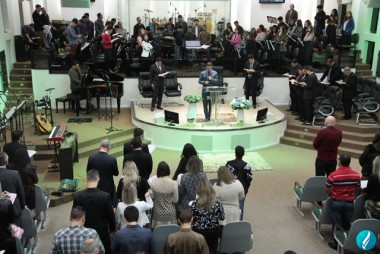 Templo Sede AD Içara realizou culto missionário