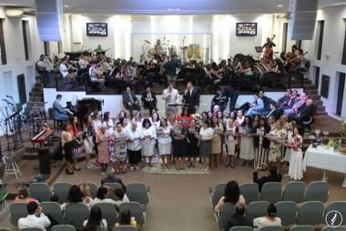 Templo Sede AD Içara celebrou Culto da Virada