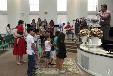 Templo Sede da AD Içara celebrou Culto da Família