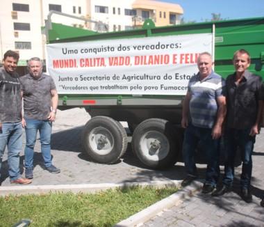 Agricultores de MF são beneficiados com novo equipamento