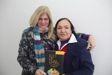 """Escritoras de Içara lançam o """"Eco de Duas Vozes- Lendas e Folclore-II"""