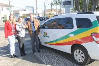 Departamento de Saúde de Maracajá recebe novo carro