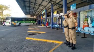Polícia Militar reforça presença no centro de Araranguá