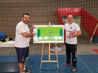 Acampamento regional de melhoria técnica reúne atletas do handebol