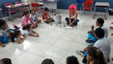 Escolas realizam atividades em alusão ao Dia Mundial da Água