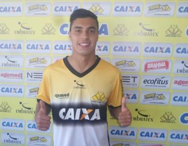 Alisson Farias é o novo reforço para o ataque do Criciúma