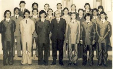 Ex-alunos da Satc fazem encontro após 45 anos da formatura