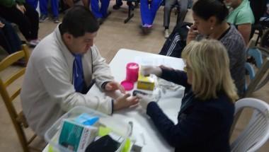 Realização de atividade de prevenção e promoção à saúde na APAE