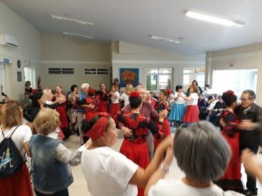 CCTI encerra atividades do mês dos idosos no Asilo São Vicente de Paulo