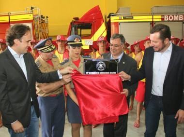 Governador inaugura maior Batalhão do Corpo de Bombeiros