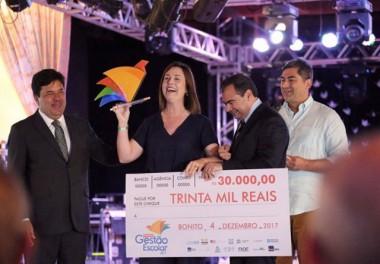 Mont'Alverne é campeã nacional do Prêmio Gestão Escolar 2017