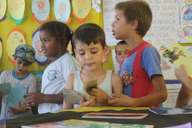 Escola Arroio Rincão reúne alunos no Dia da Leitura