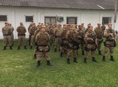 Polícia Militar realiza grande operação em Araranguá