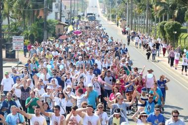 Caminhada Vocacional contará com acolhida de ícones que peregrinam o Estado