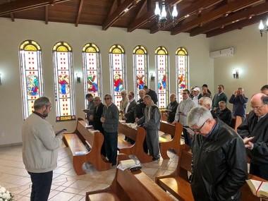 Padres celebram manhã de oração