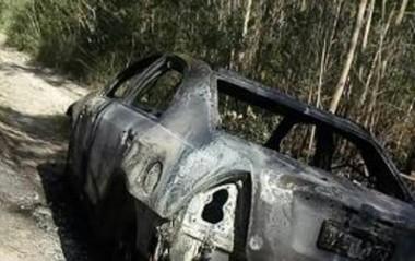 Carro roubado em Urussanga é localizado incendiado