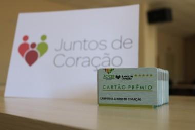 Movimento Juntos de Coração já doou mais de mil cartões de compras