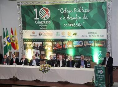 Colombo abre o 10º Congresso dos Empregados da Celesc