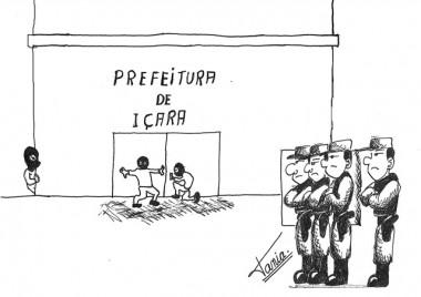 Paço Municipal é alvo de ladrões
